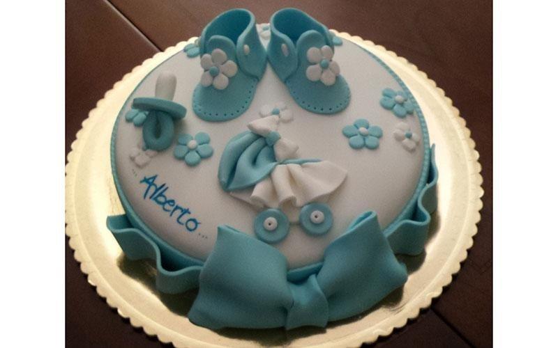 torta nascita bambino