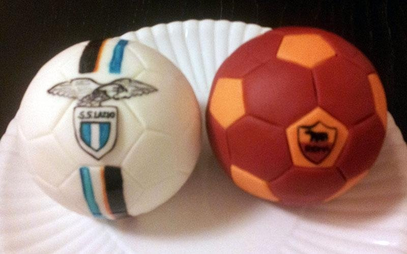 torta design calcio