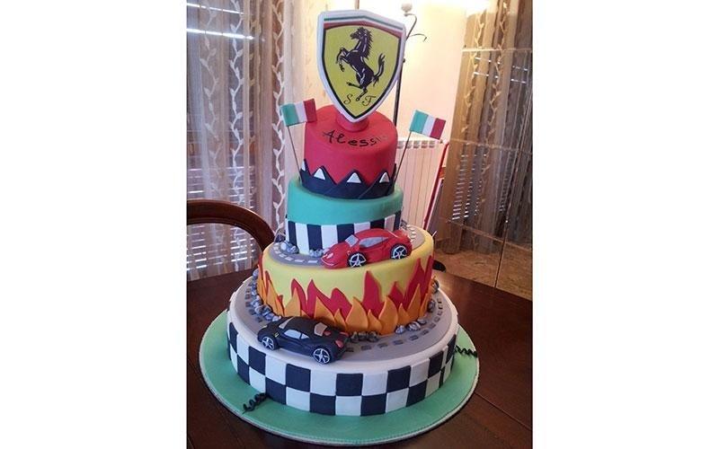 torte compleanno Ferrari