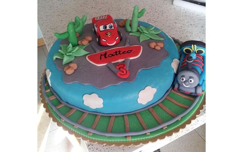 torte compleanno Cars
