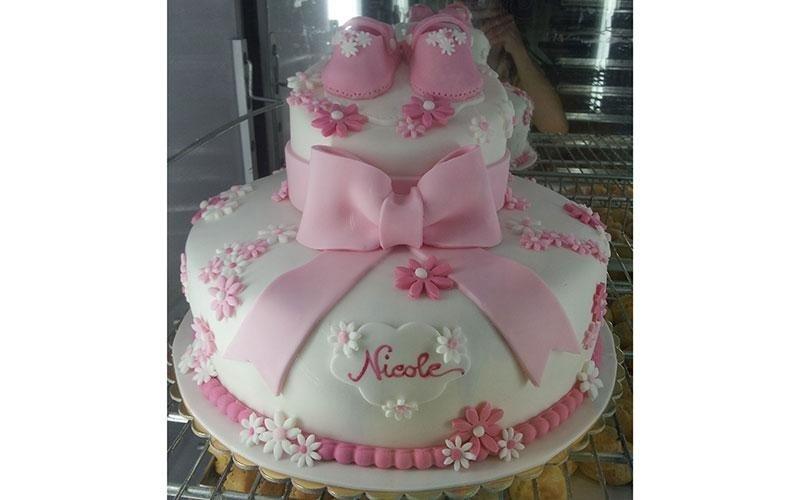 torta nascita bambina