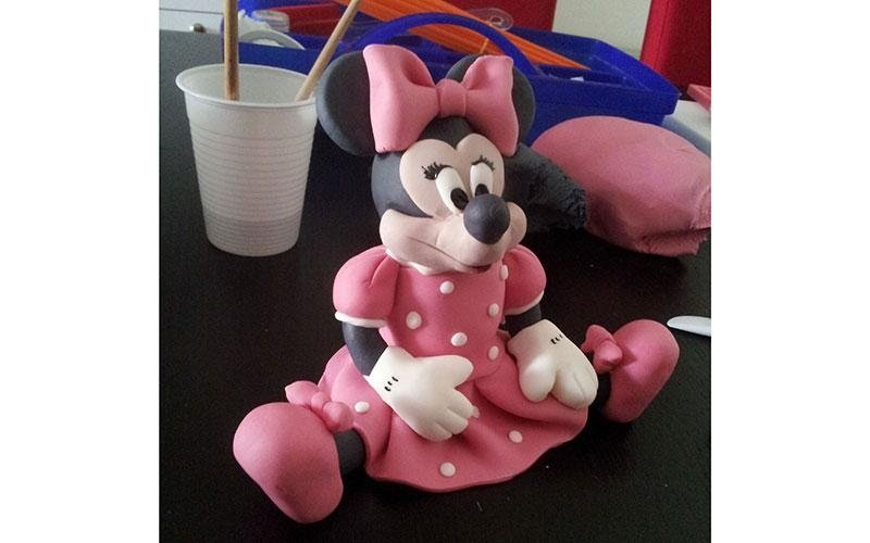 decorazione torta Minnie Disney