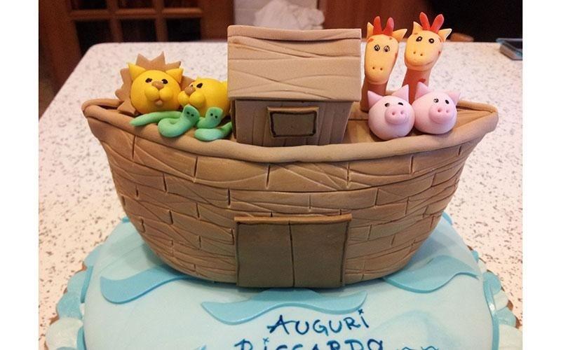 torta personalizzata bambino