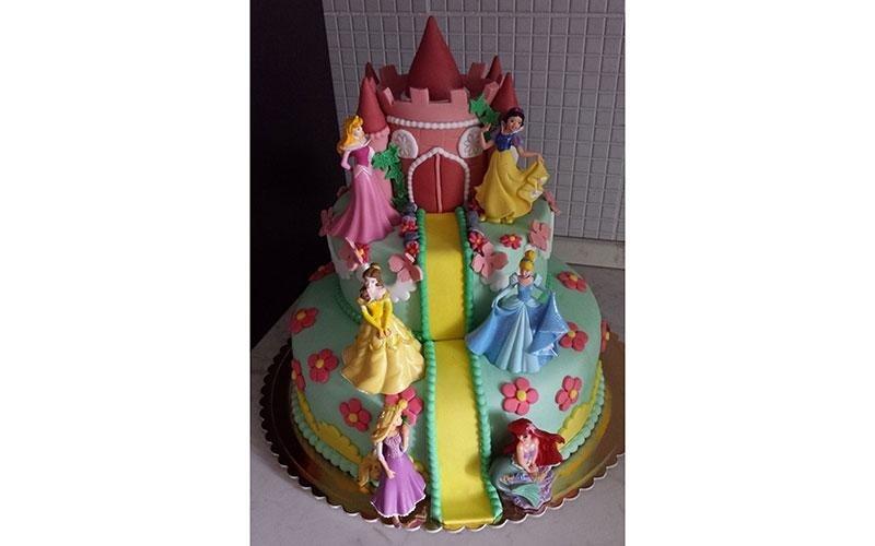 torta principesse Disney