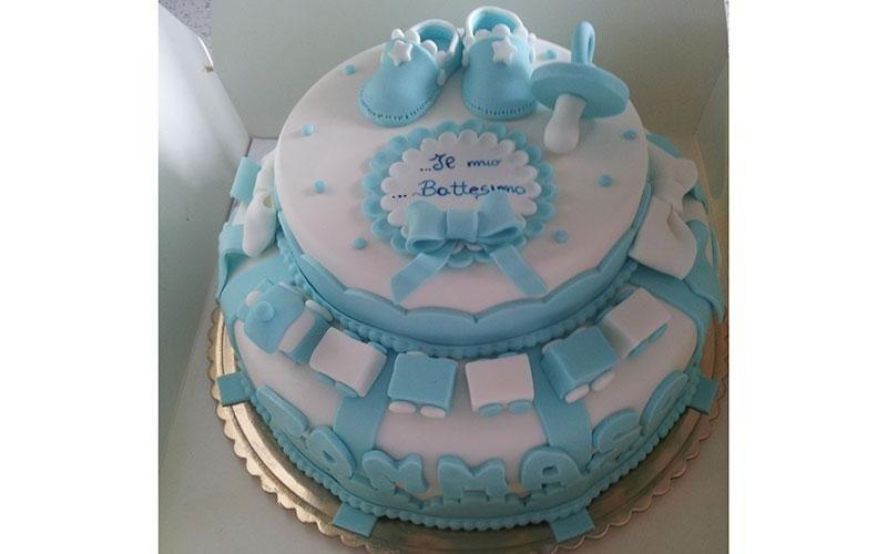 torta design battesimo