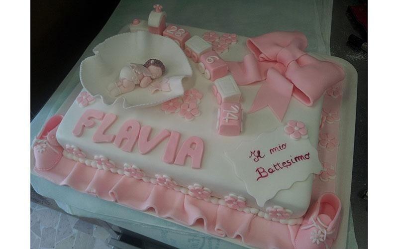cake design battesimo