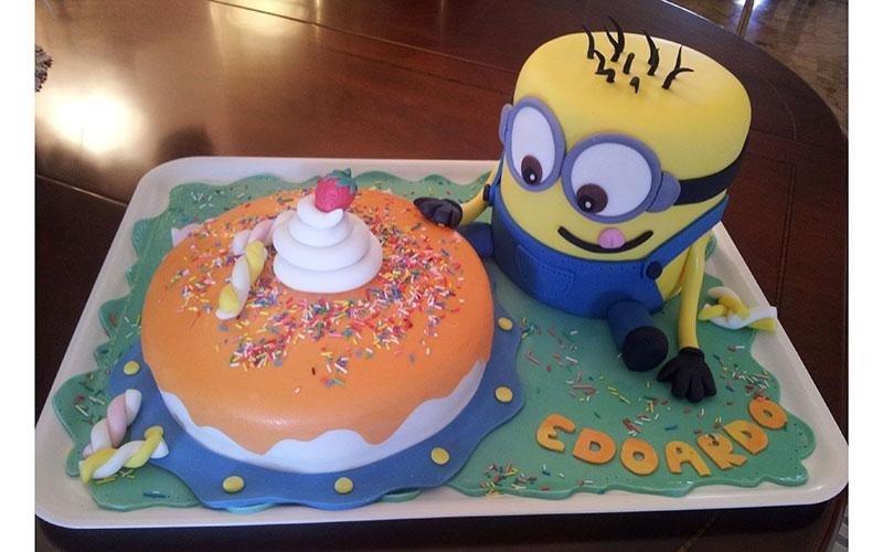 torta compleanno Cattivissimo Me