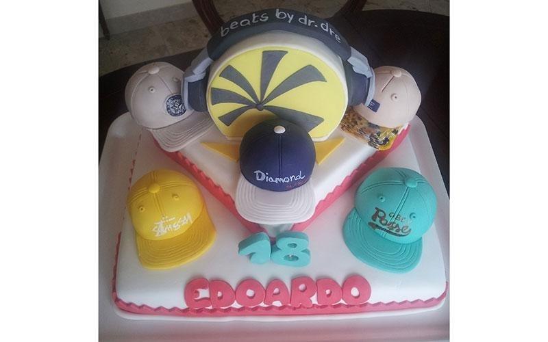 torta compleanno hip hop