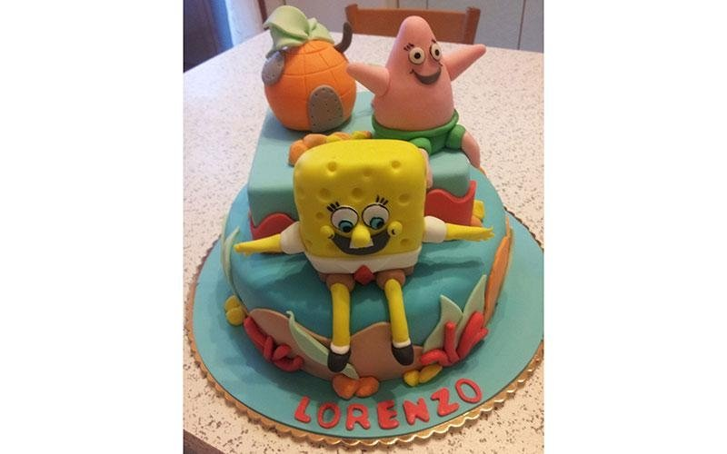 torta personalizzata Spongebob