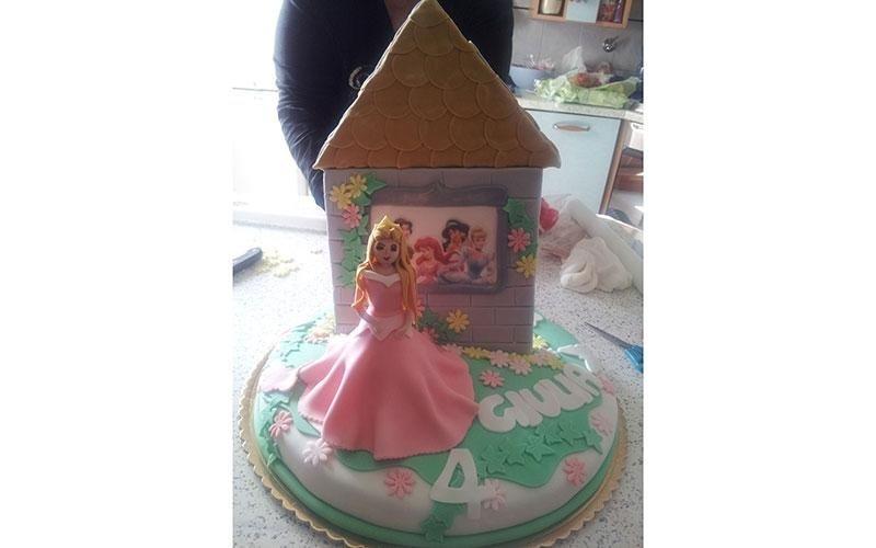 torta compleanno Disney