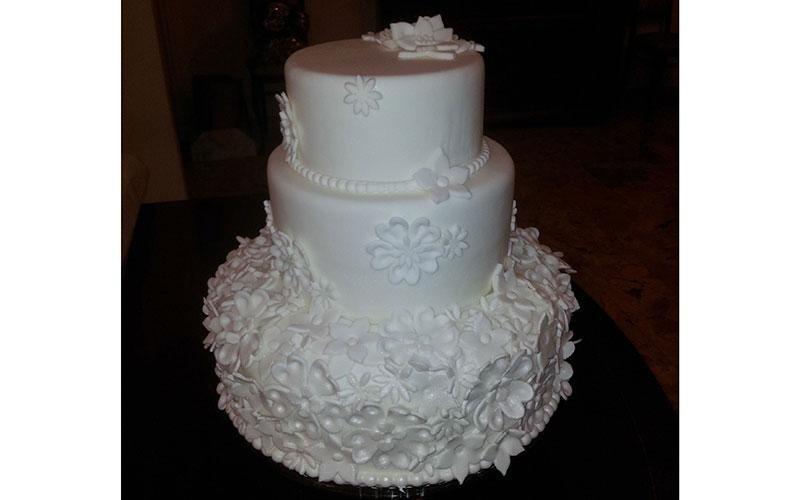 torta design floreale