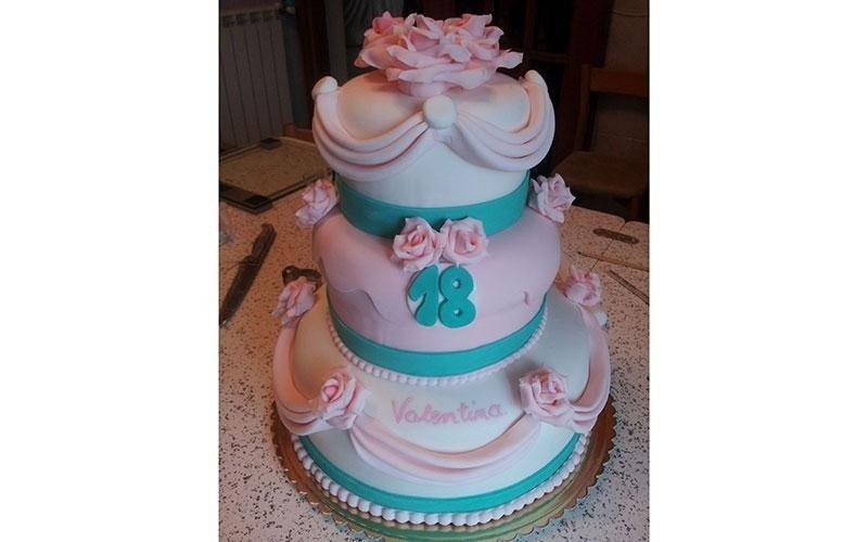 cake design diciottesimo compleanno