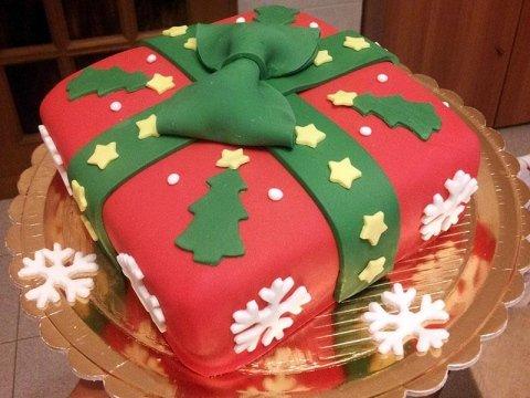 torta personalizzata festività