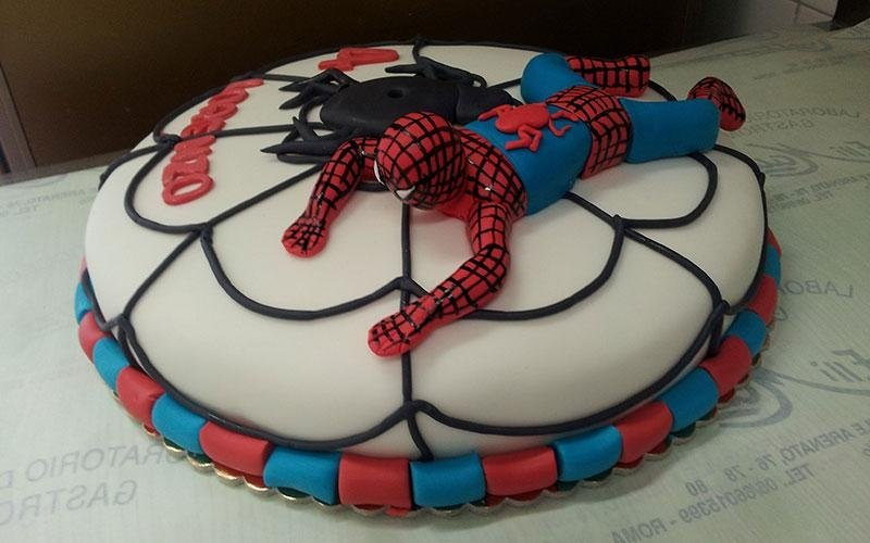 torte compleanno Spiderman