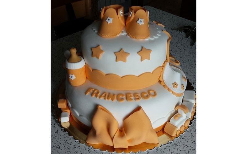 torta nascita design