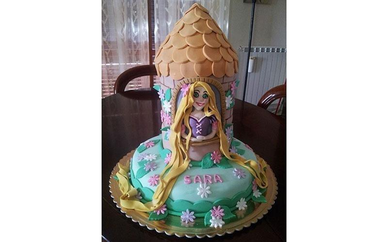 torta design Rapunzel
