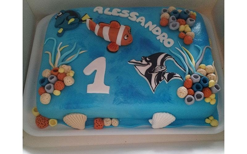 cake design Nemo