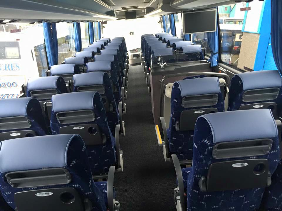 49 seater executive touring coaches