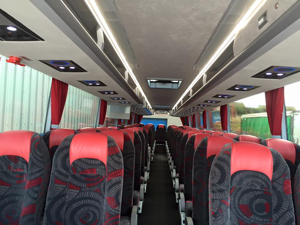 70 seater coaches