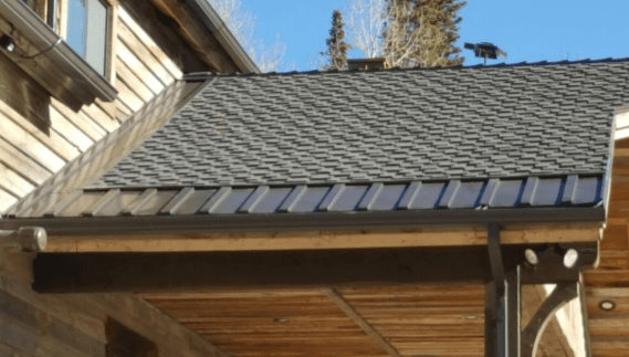 ... Utilizes Self Regulating Cables Within To Provide A Clean Look That Can  Be Color Matched To Roofing Types. They Are Extremely Efficient, As The  Cables ...