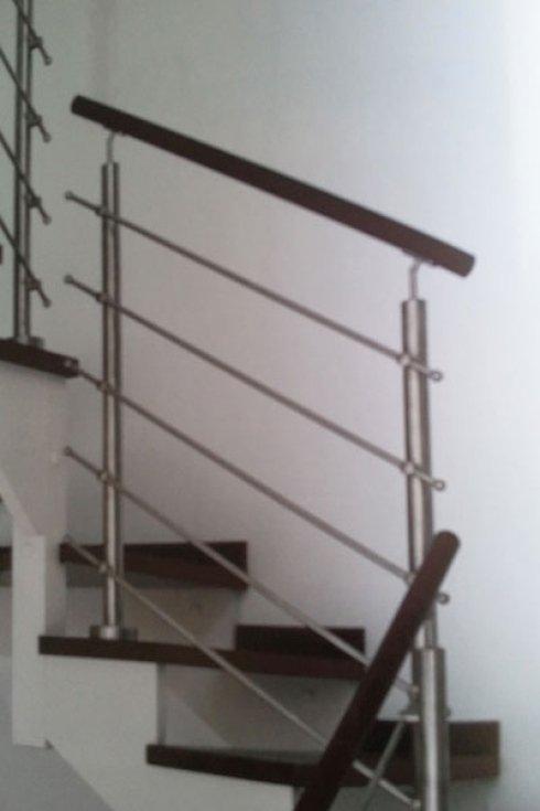Ringhiera per scalinata.