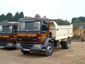 sand and gravel  - Bishop's Stortford, Hertfordshire - Darlington Aggregates Ltd  - building