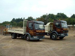 sand and gravel suppliers  - Bishop's Stortford, Hertfordshire - Darlington Aggregates Ltd  - garden