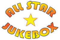 allstar jukebox and frozen cocktail hire brand logo
