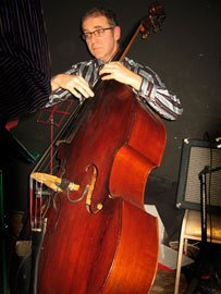 Adam Gittens on Double Bass