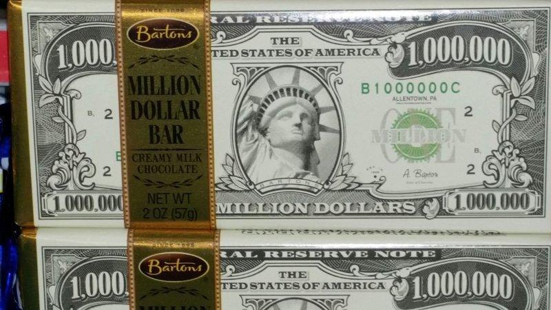 Dollar chocolate