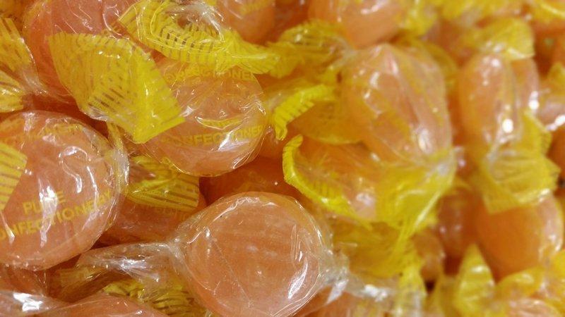 orange sweets