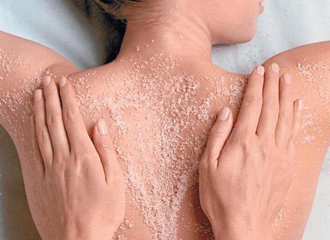 trattamento body scrub