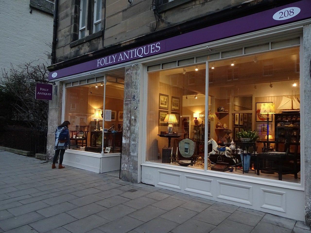 Folly antiques shop