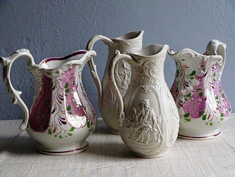 Modern and traditional design ceramics