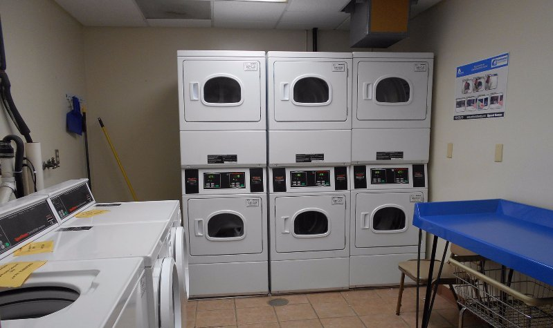 On-site laundry & community rooms
