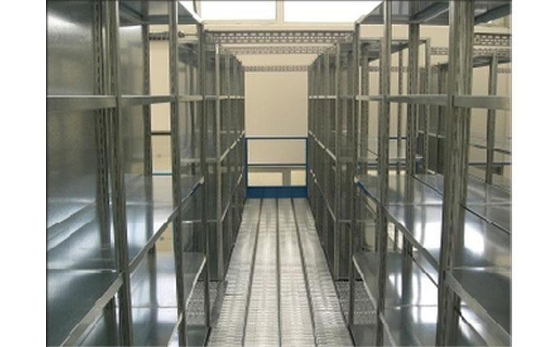 scaffalature metalliche per archivi