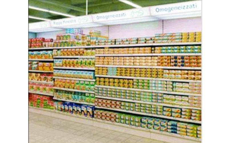 Arredamenti per supermercato
