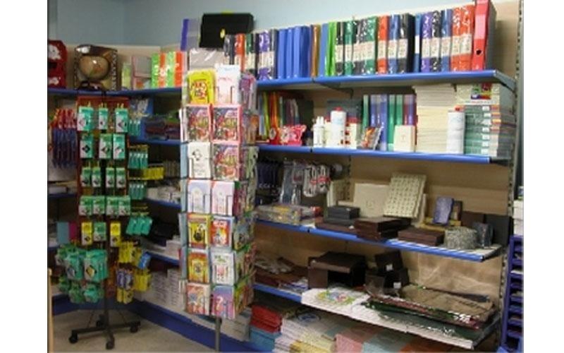 Arredamenti e scaffali per cartolibreria