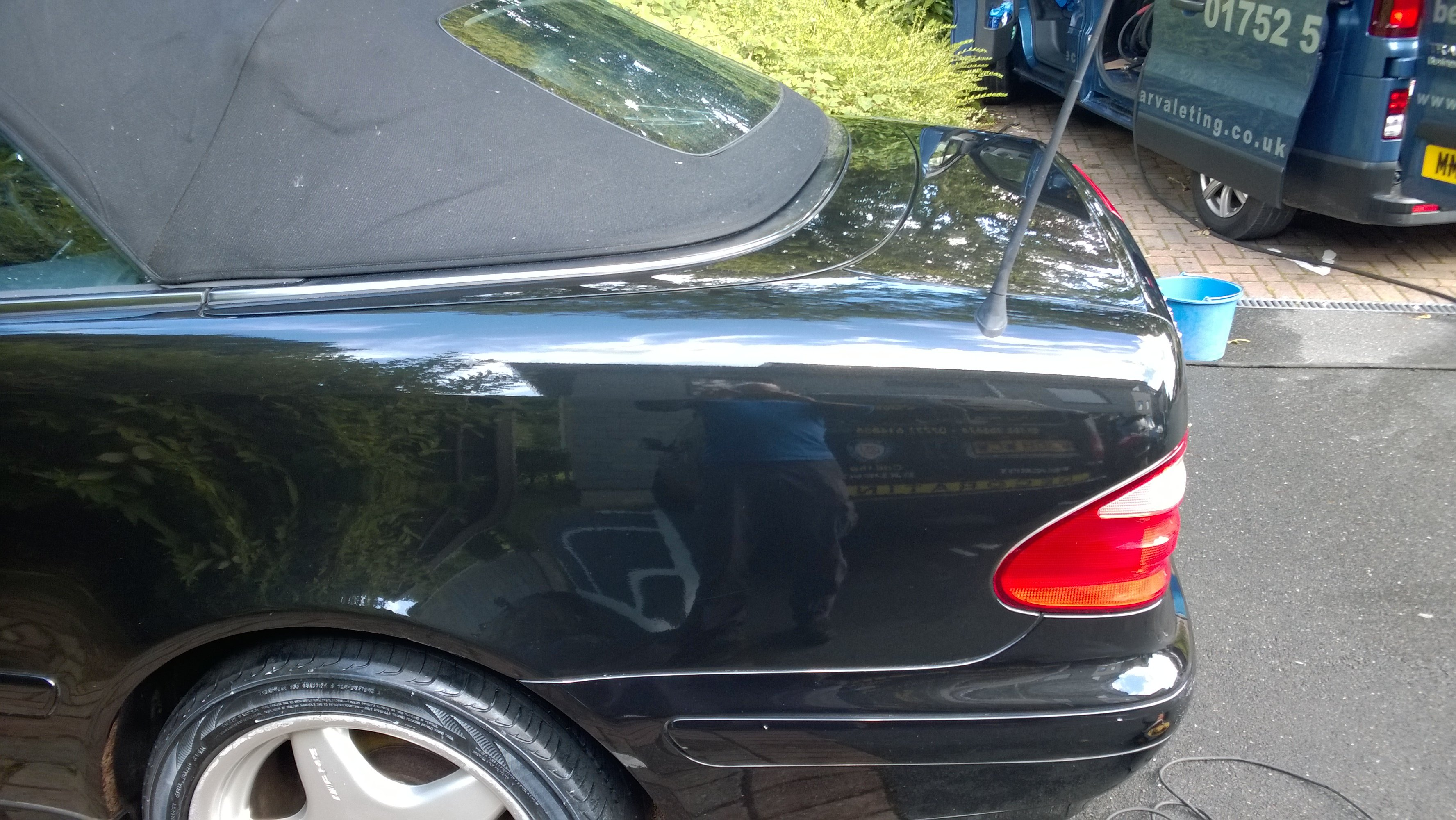 Machine polish after