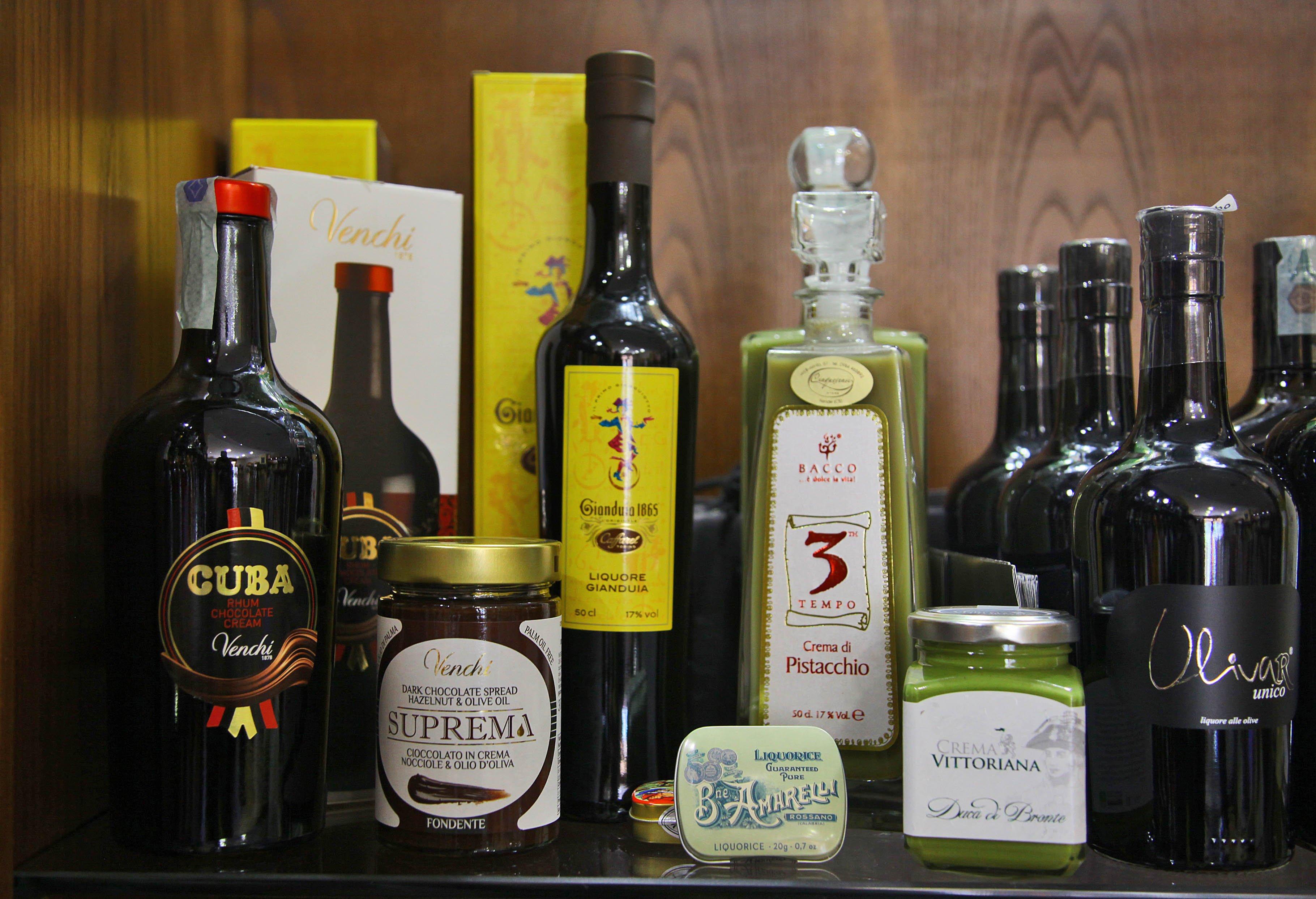 bottiglie di liquori