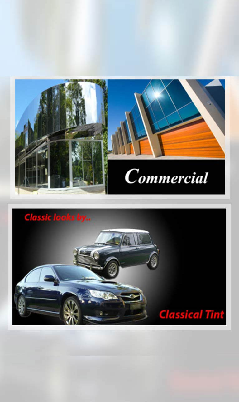 classical tint glass commercial services
