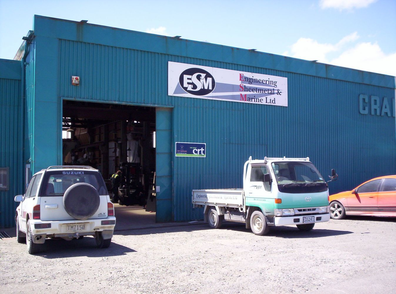 Where sheet metal work is conducted in Invercargill