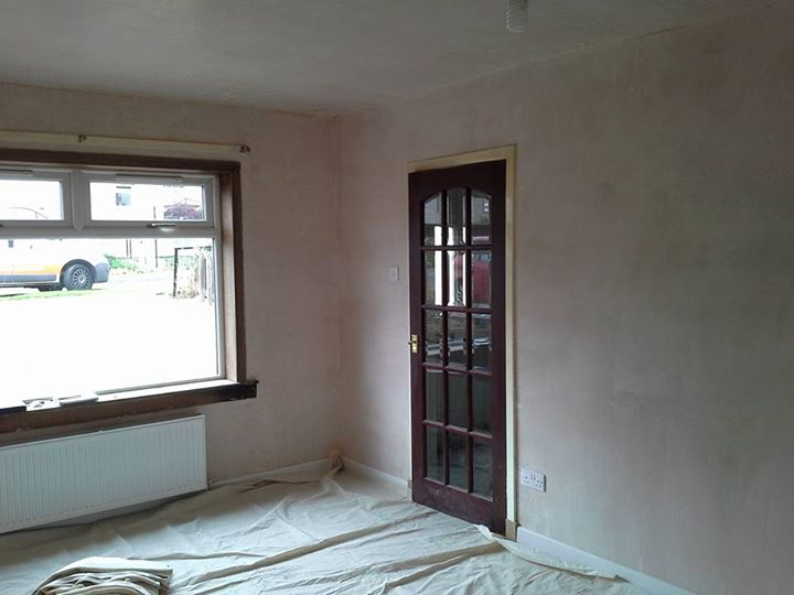 Painting new plaster edinburgh