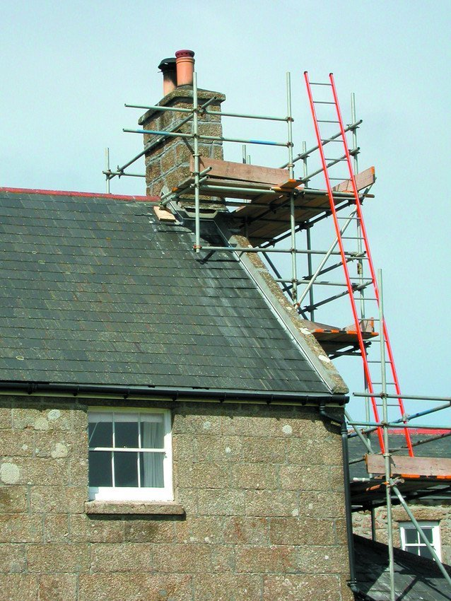Roofing work for homes
