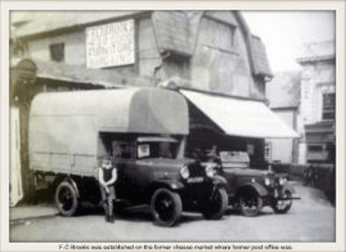 Old pic of our removal services