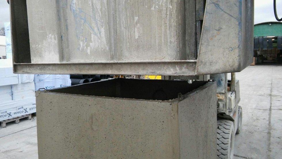 Realizzazione di blocchi in cemento