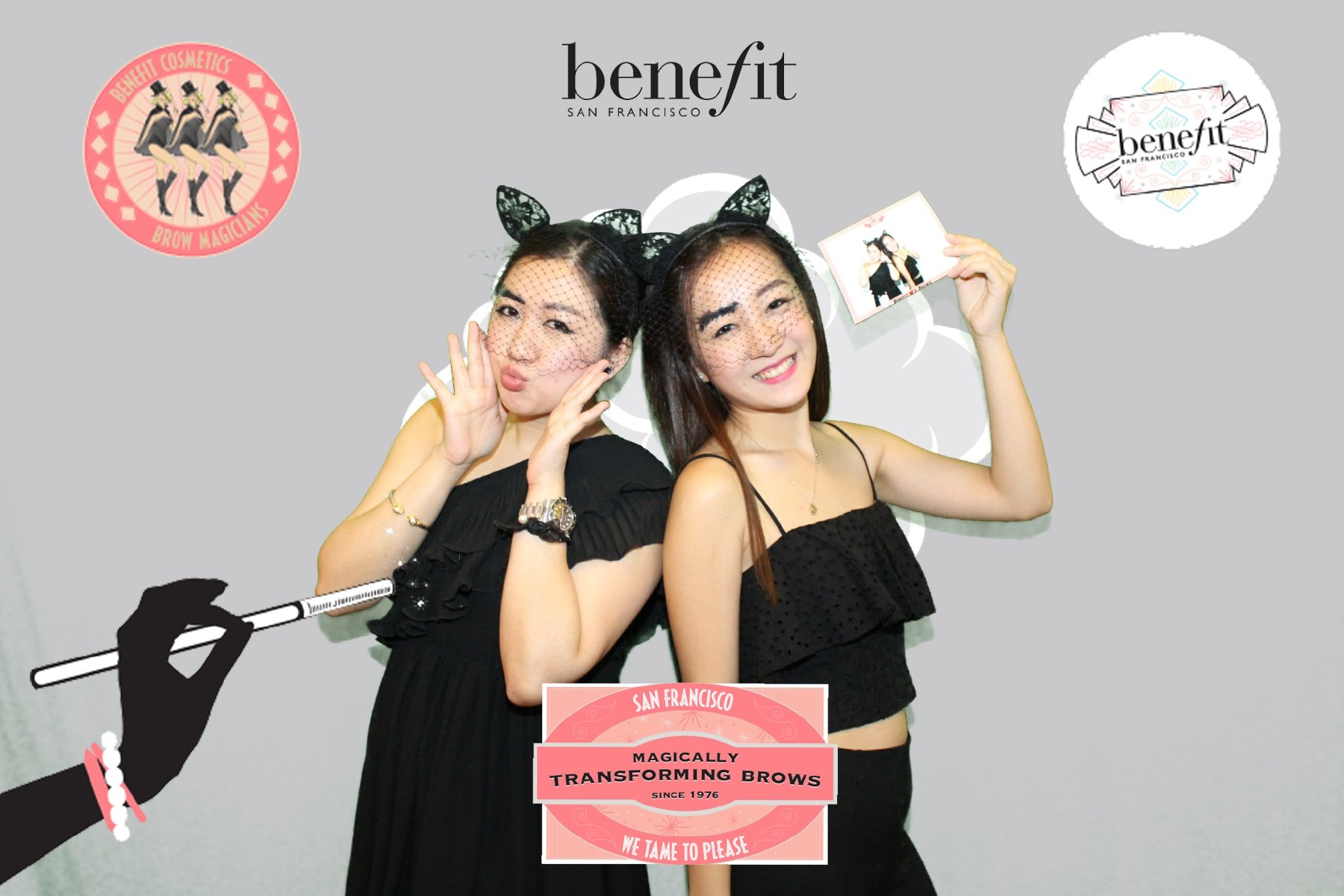 Guests at a Benefit Event in San Francisco in Green Screen Photos