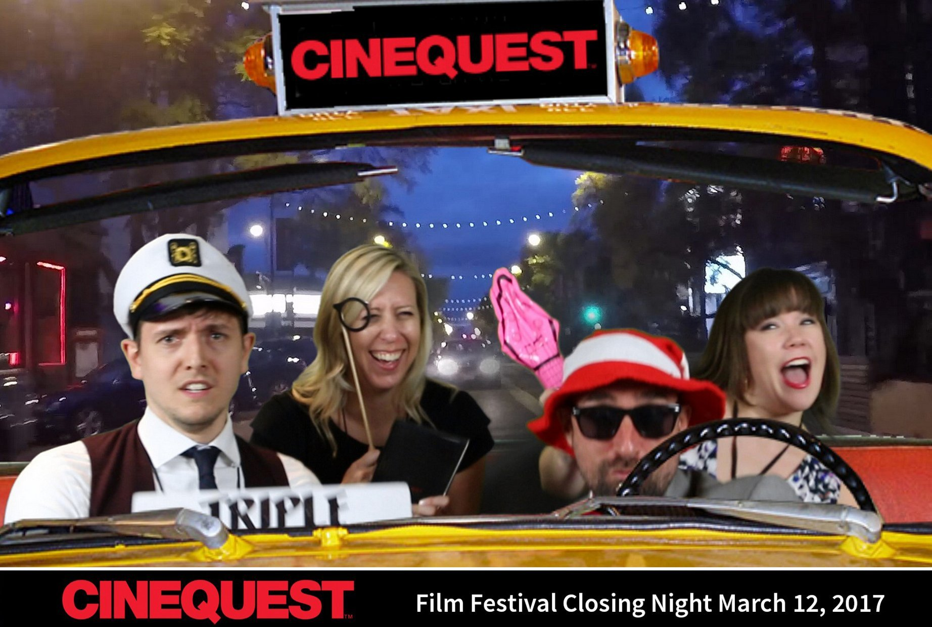Greenscreen photos from the Cinequest Film Festival in San Jose, CA