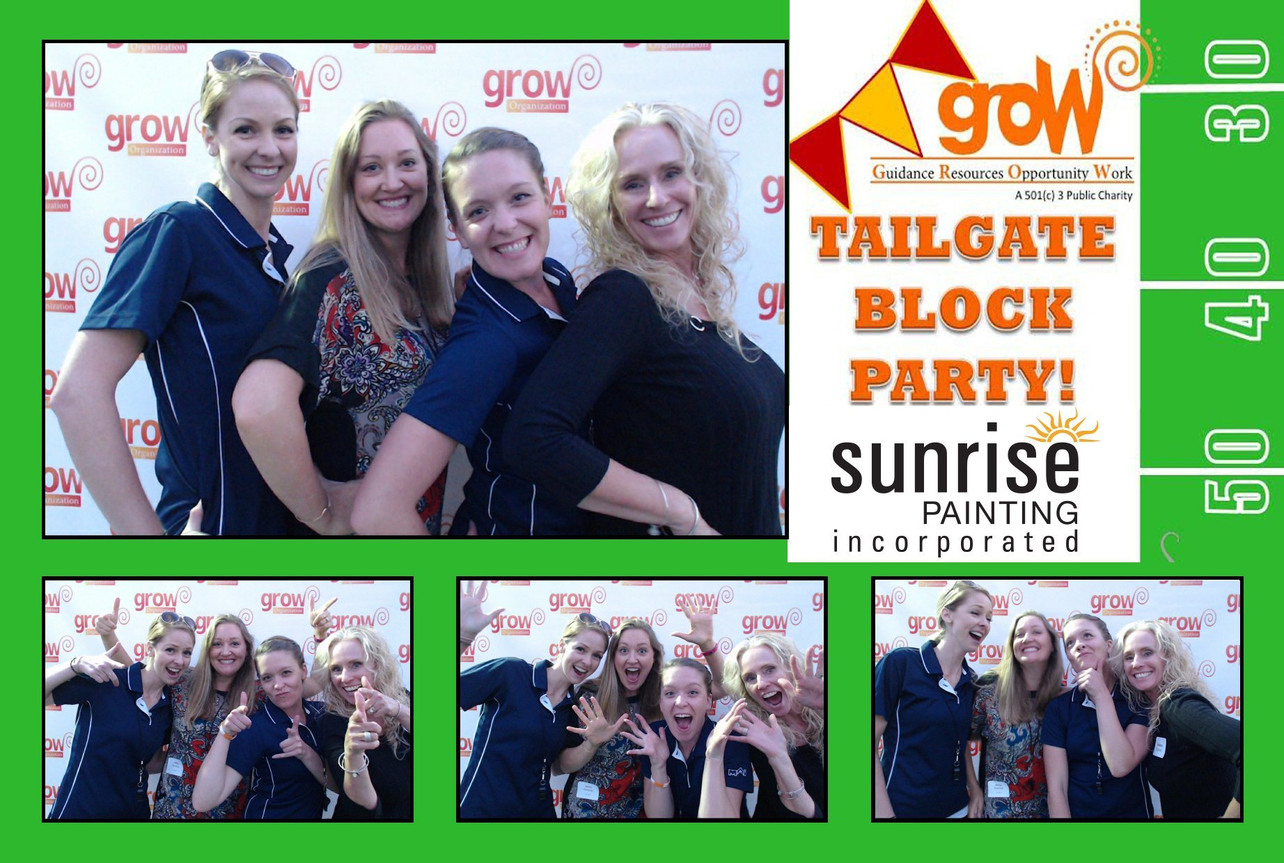 Green Screen Photos for Picnics & Corporate Events