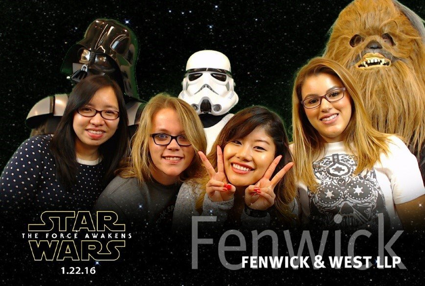 A Starwars Activation with Greenscreen Photos